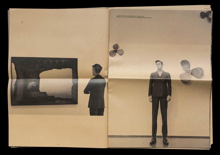 Heren Magazine Art Direction - Come de Bouchony 06