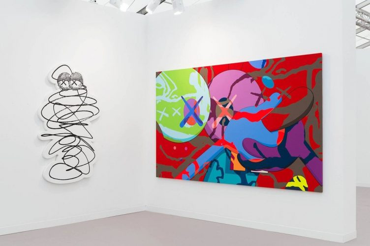 KAWS, Galerie Perrotin Frieze Art Fair, London 002