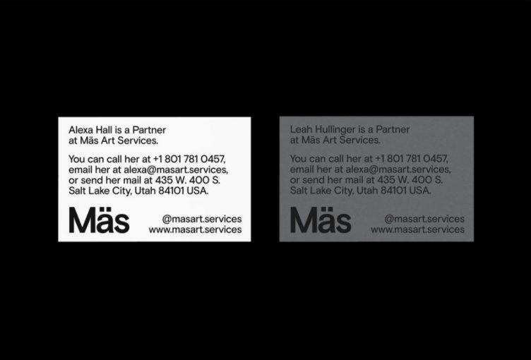 Mäs Art Services Identity by Tanner Stevenett 01