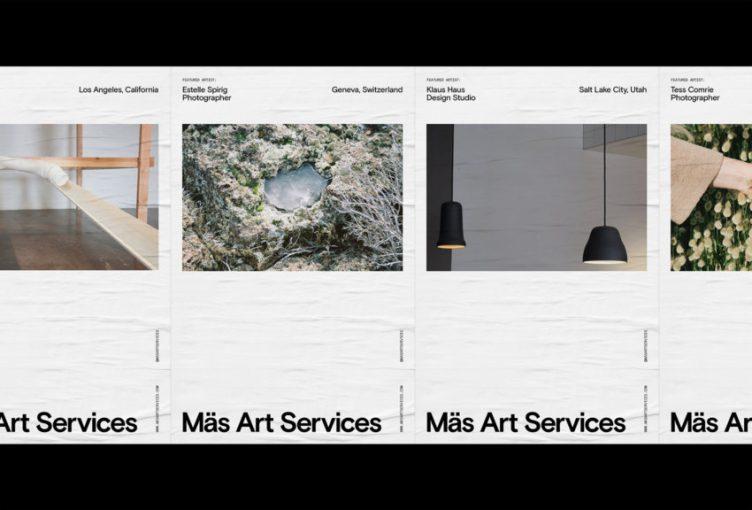 Mäs Art Services Identity by Tanner Stevenett 07