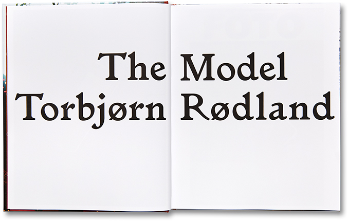 Torbjørn Rødland - The Model 003