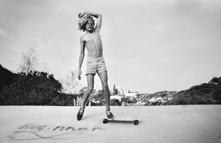 Hugh Holland - Silver. Skate. Seventies. 012