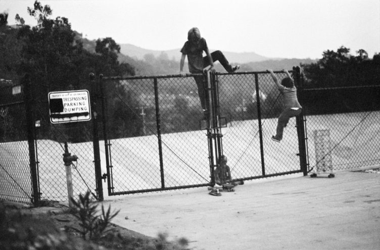 Hugh Holland - Silver. Skate. Seventies. 021