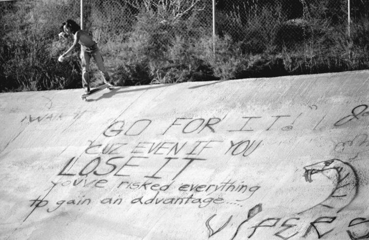 Hugh Holland - Silver. Skate. Seventies. 025