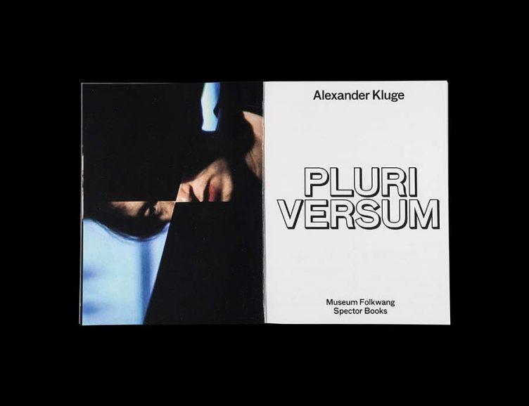 Pluriversum Alexander Kluge Spread - Spector Books 005