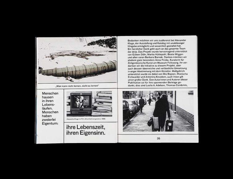 Pluriversum Alexander Kluge Spread - Spector Books 007