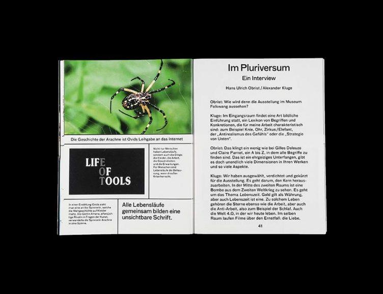 Pluriversum Alexander Kluge Spread - Spector Books 009