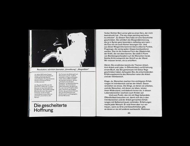 Pluriversum Alexander Kluge Spread - Spector Books 011