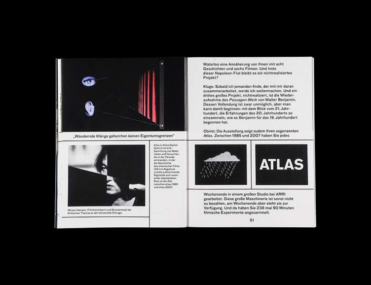 Pluriversum Alexander Kluge Spread - Spector Books 012