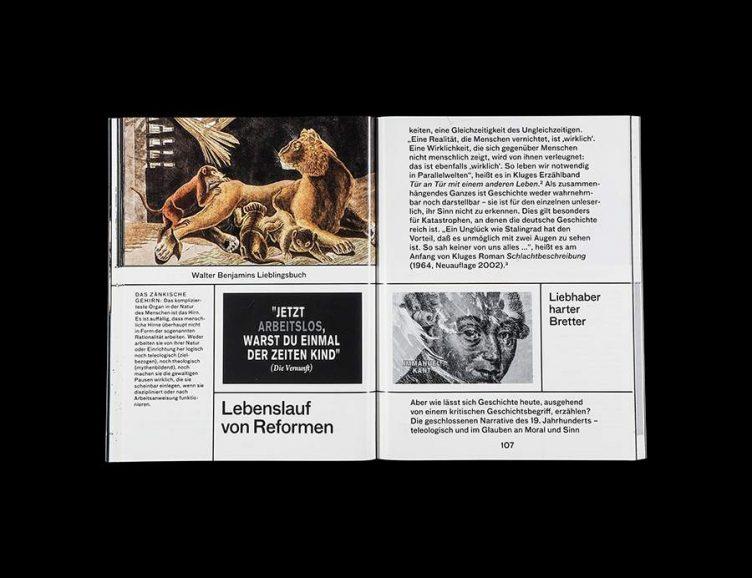 Pluriversum Alexander Kluge Spread - Spector Books 014