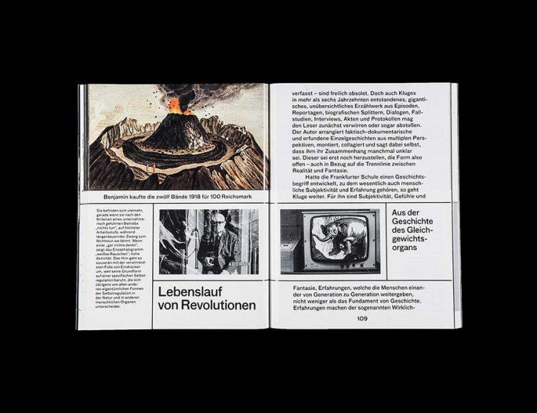 Pluriversum Alexander Kluge Spread - Spector Books 015