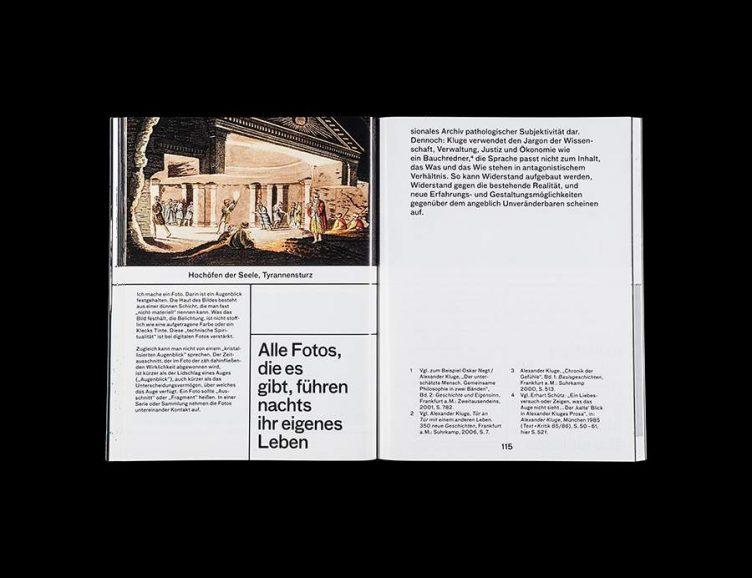 Pluriversum Alexander Kluge Spread - Spector Books 016