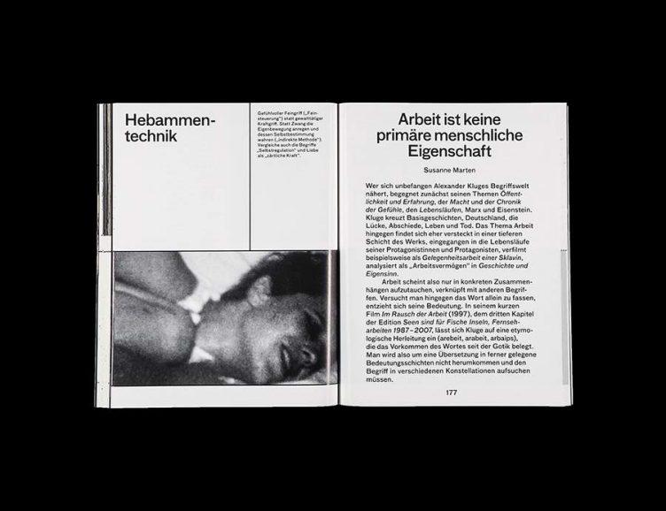 Pluriversum Alexander Kluge Spread - Spector Books 020