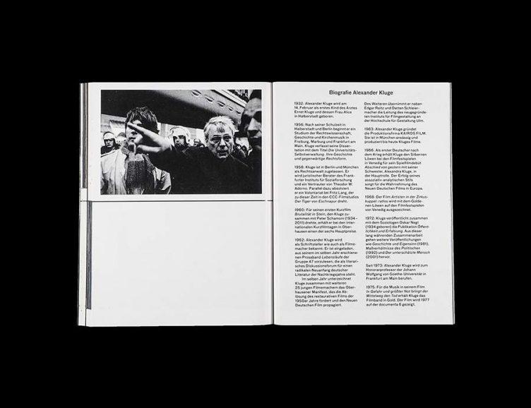 Pluriversum Alexander Kluge Spread - Spector Books 024