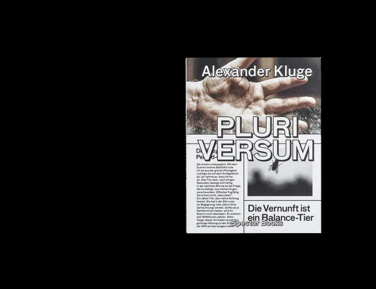 Pluriversum Alexander Kluge Cover - Spector Books 001