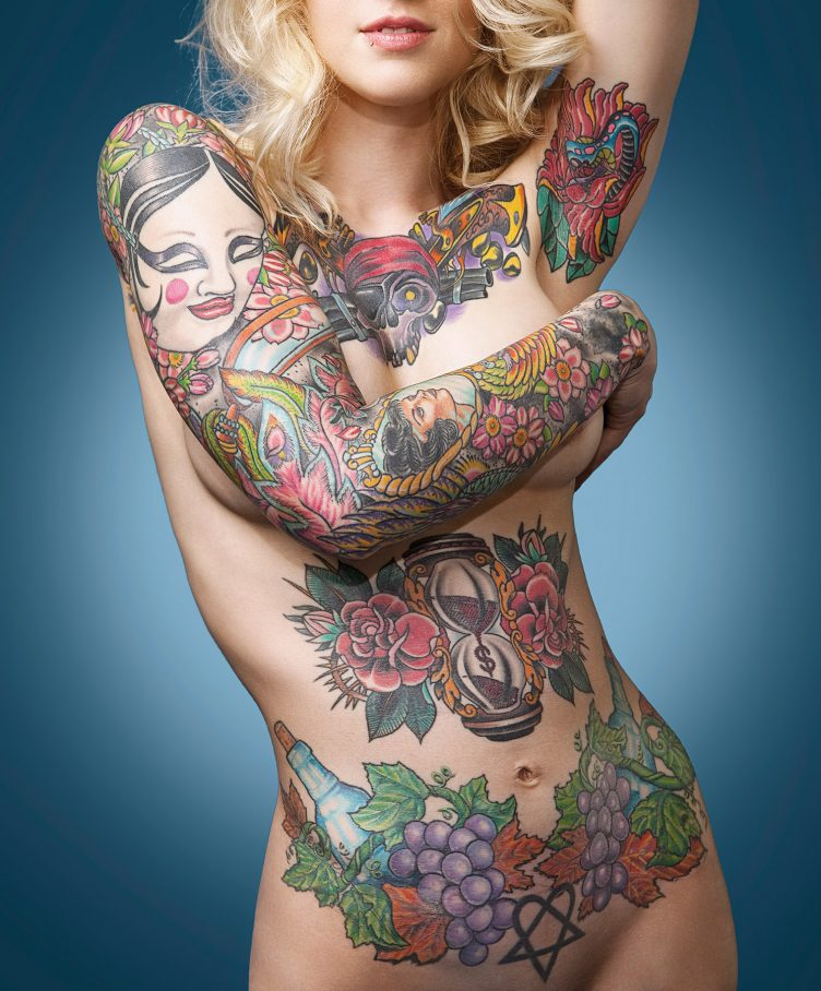 Tattoo Super Models by Christian Saint - Goliath Books 06
