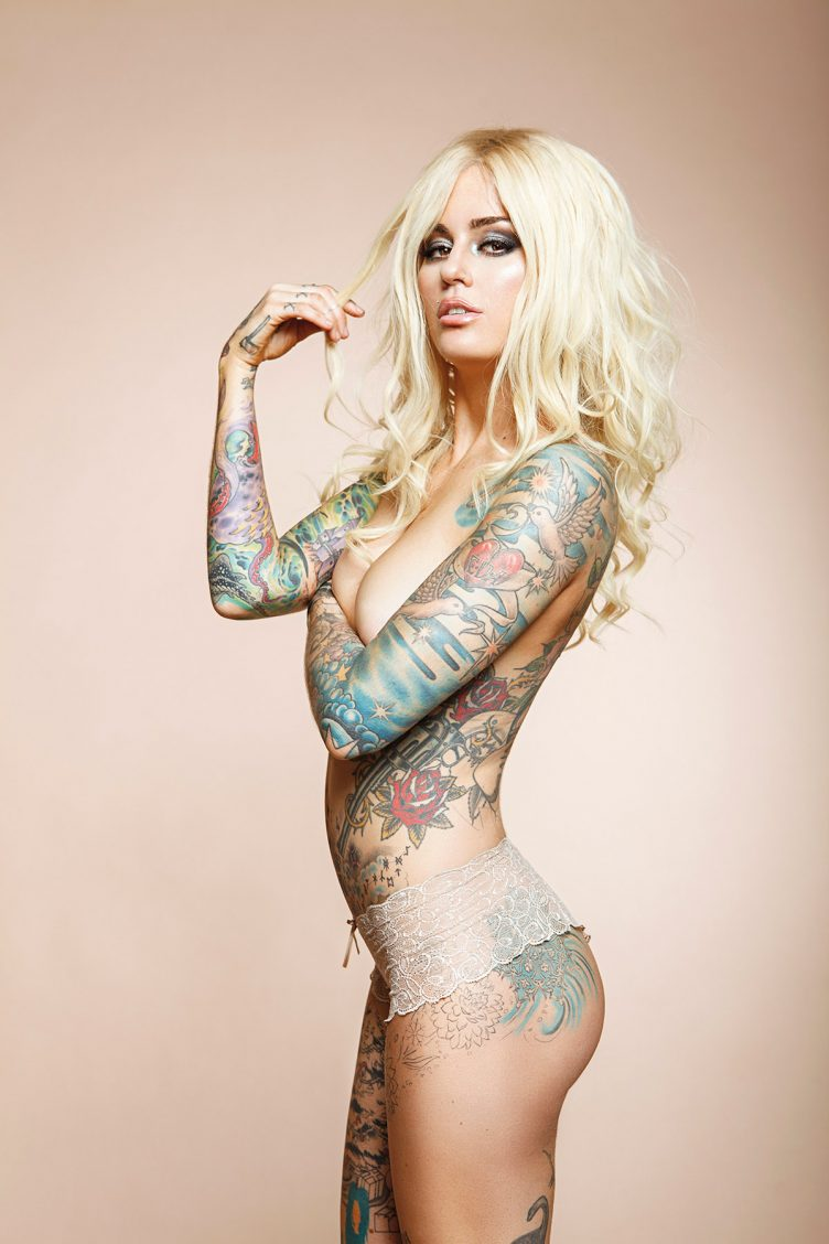 Tattoo Super Models By Christian Saint  Photography Book-2765