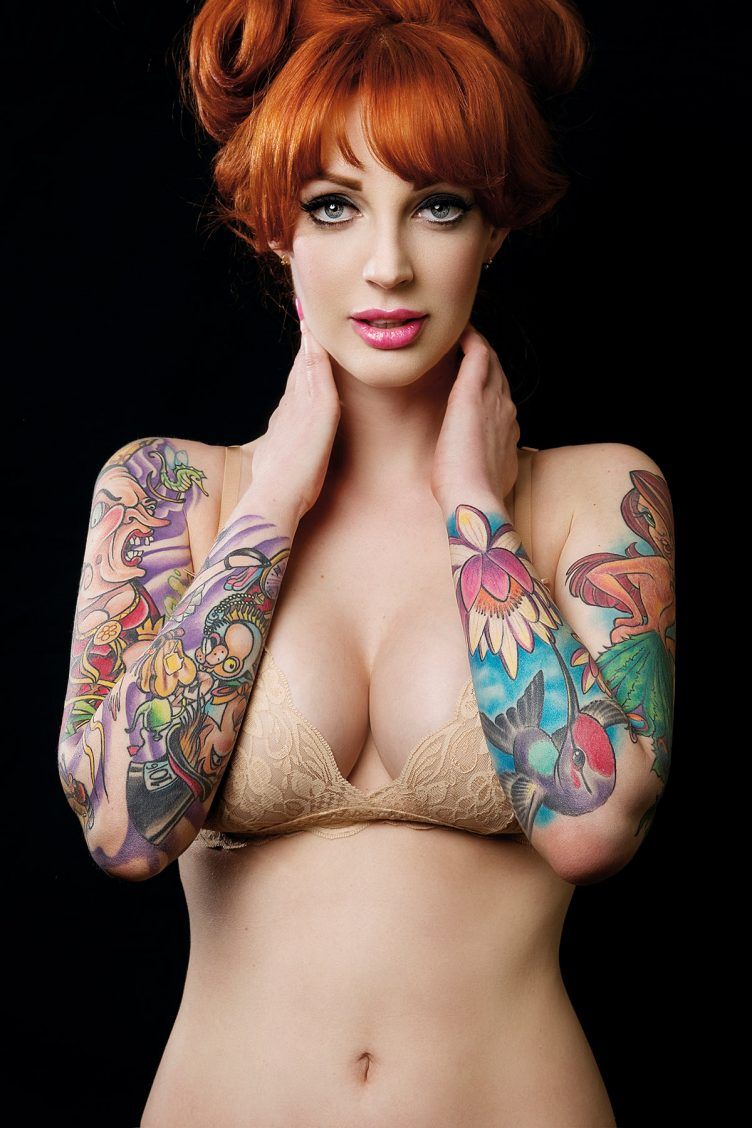 Tattoo Super Models by Christian Saint - Goliath Books 11