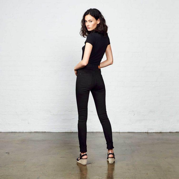 Hiut Denim Co - The Dina Skinny Fit, High Waist 03