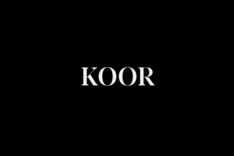 Koor Typeface Example - The Designers Foundry 14