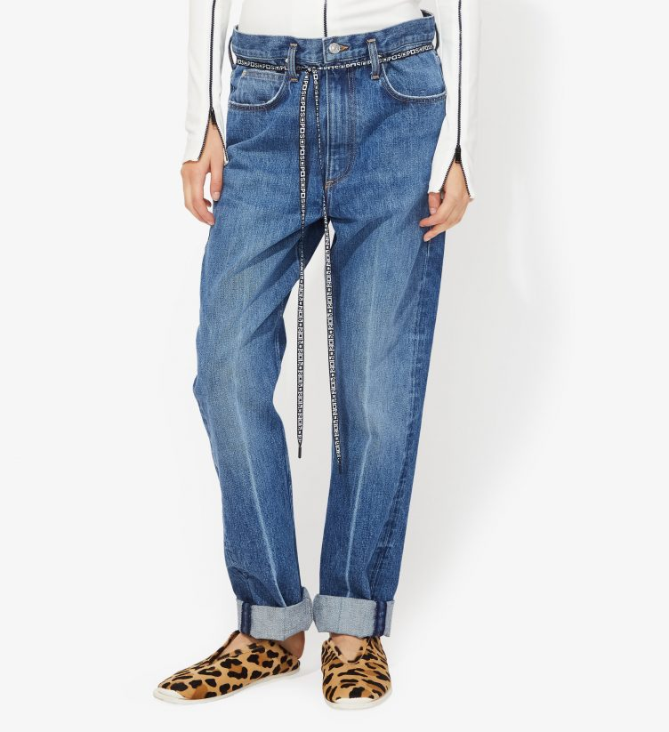 Proenza Schouler - PSWL Paperbag Jeans 01