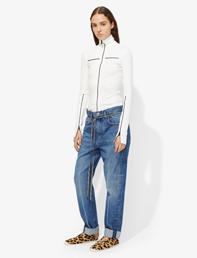 Proenza Schouler - PSWL Paperbag Jeans 02