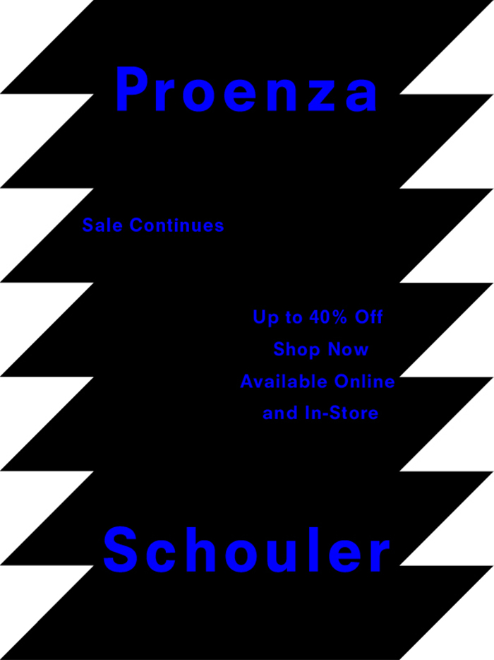 Proenza Schouler Sale