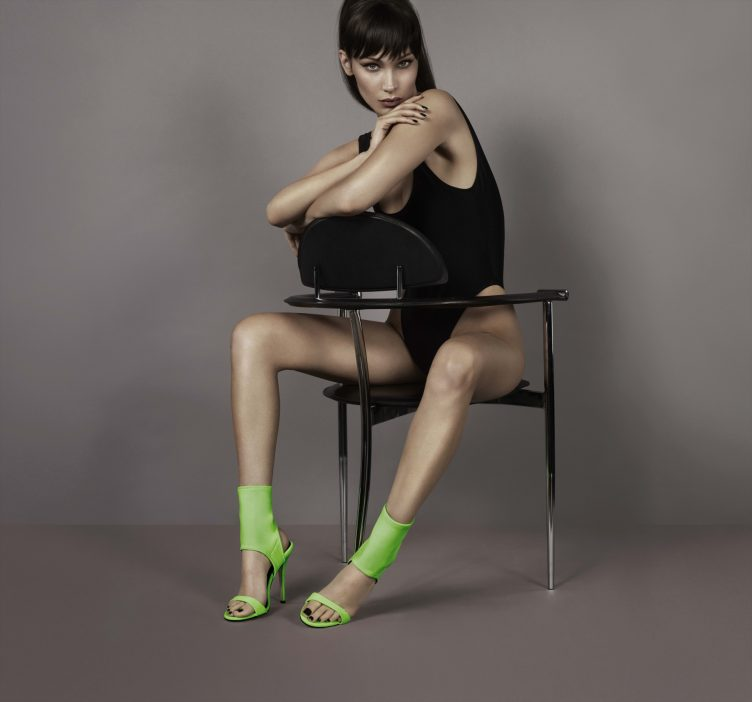 Bella Hadid for Giuseppe Zanotti SS18 01