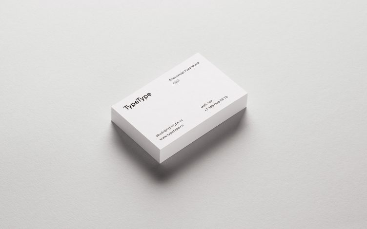 TypeType Brand Identity by Comence Studio 021