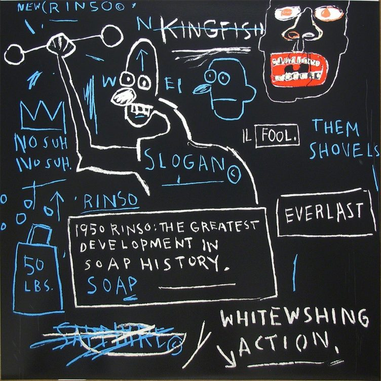 Jean-Michel Basquiat - Untitled (Rinso), 1982