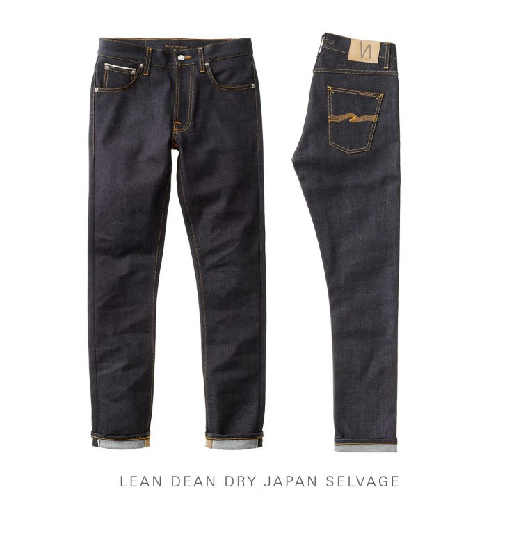 Lean Dean Dry Japan Selvage Jeans