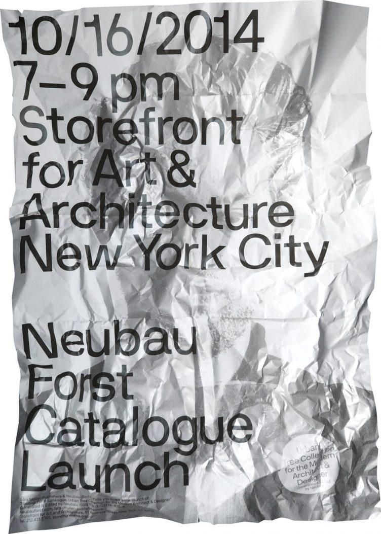 Neubau NBF NYC Poster Series 2014 01