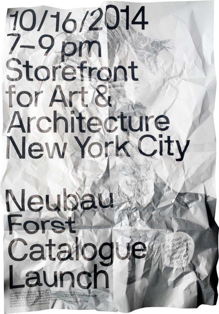 Neubau NBF NYC Poster Series 2014 02