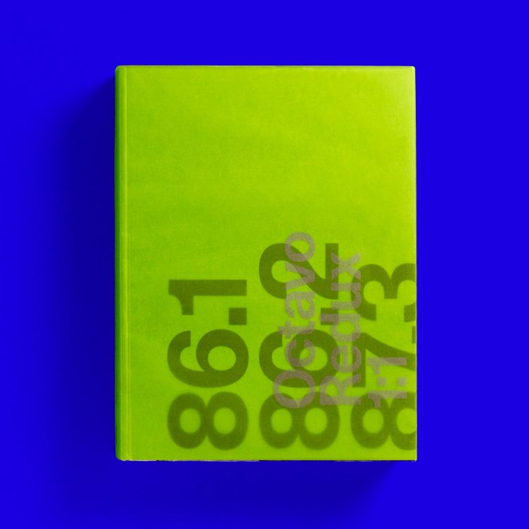 Octavo Redux 1:1 A record of Octavo, journal of typography 1986–1992 Unit Editions Cover 001