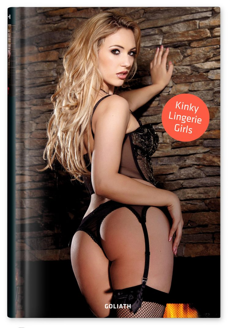 Kinky Lingerie Girls - Holly Randall Cover