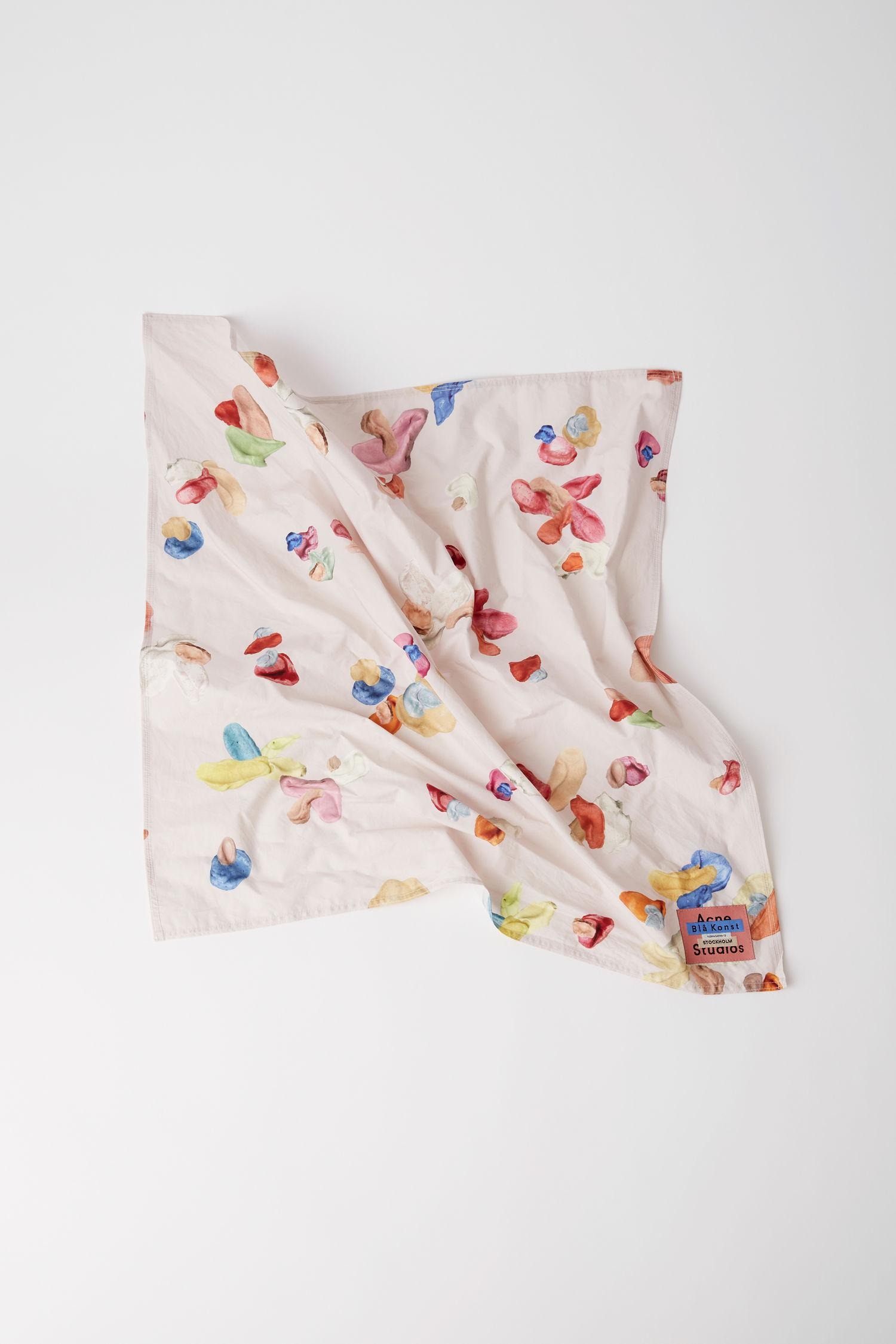 Acne Studios - Gum Print Scarf 01