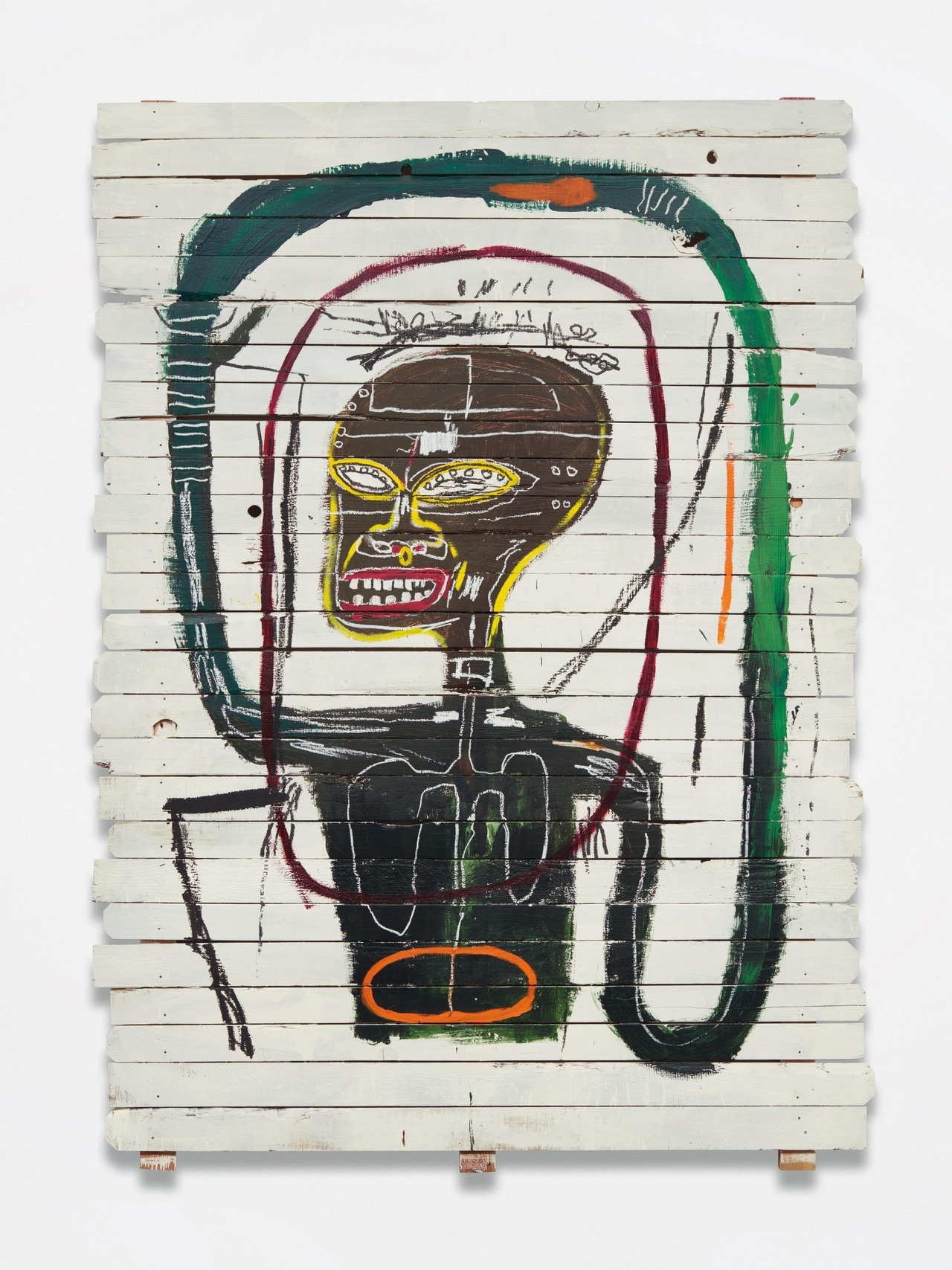 Jean Michel-Basquiat - Flexible, 1984