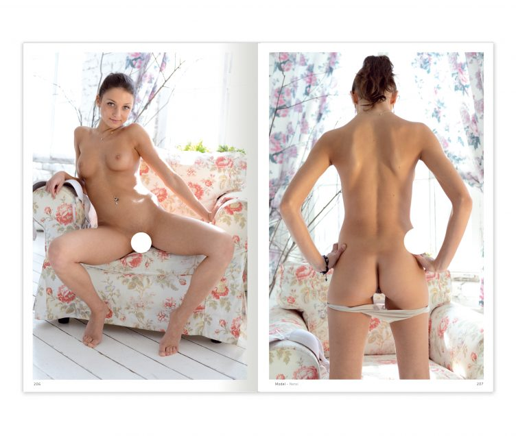 Natural & Naked - Girls Uncensored Spread 010