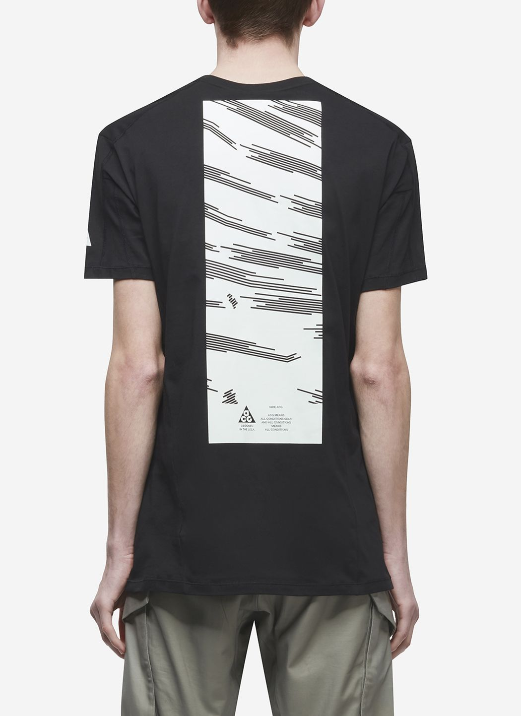Nikelab ACG T-Shirt in Black / Barely Green 03