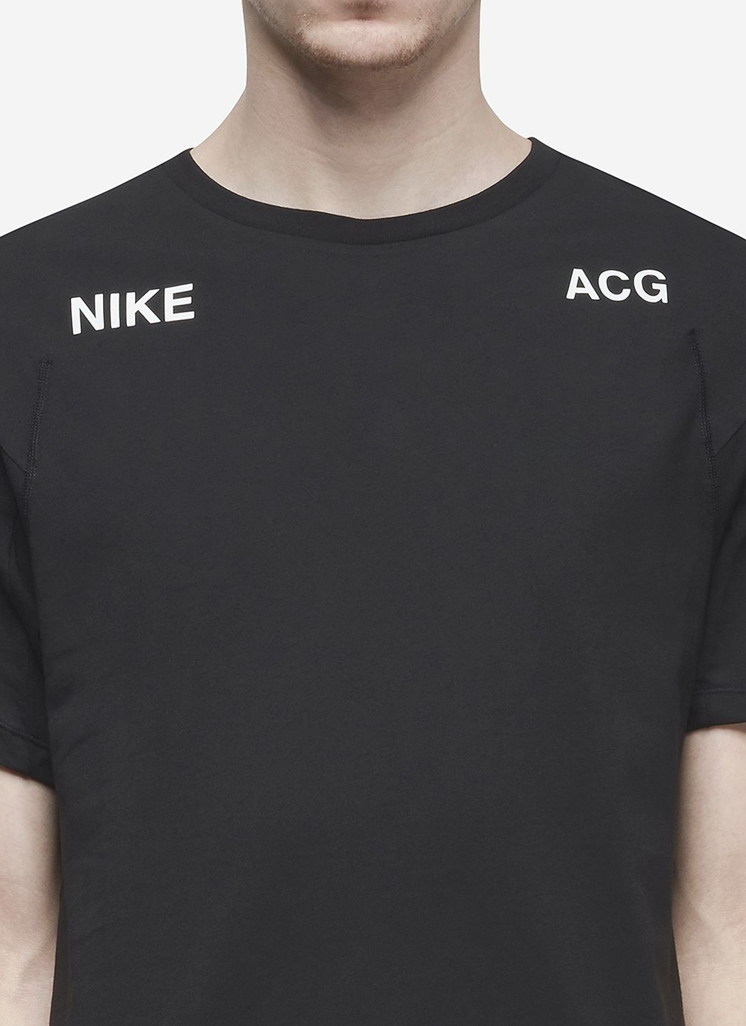 Nikelab ACG T-Shirt in Black / Barely Green 05