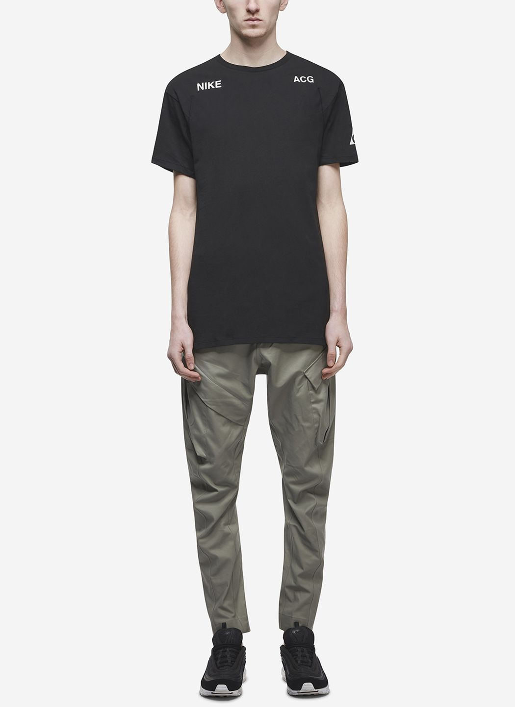 Nikelab ACG T-Shirt in Black / Barely Green 06
