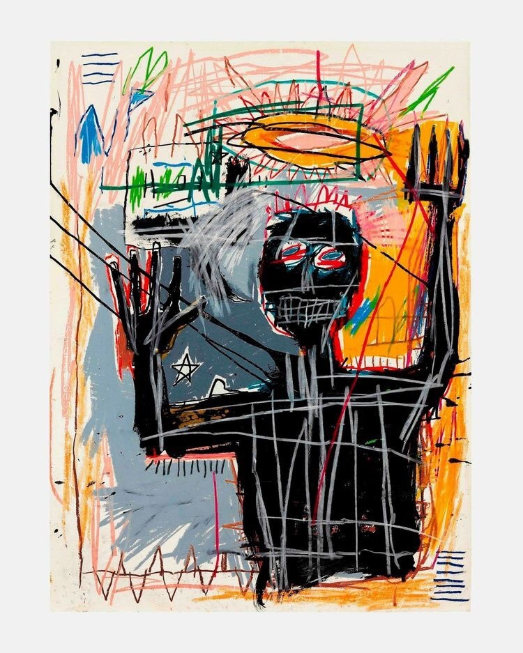 Jean-Michel Basquiat - Furious Man, 1982