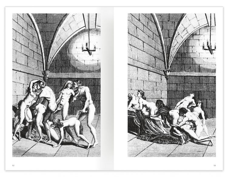 Marquis de Sade - 100 Erotic Illustrations Spread 02