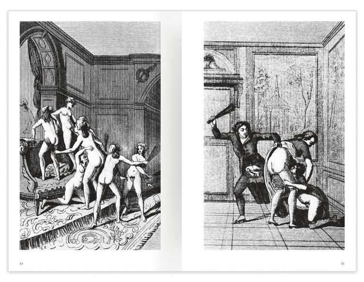 Marquis de Sade - 100 Erotic Illustrations Spread 03