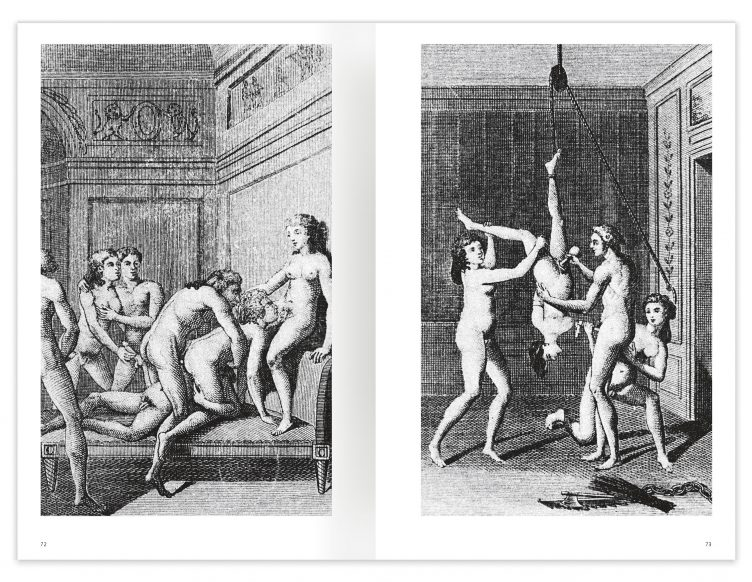 Marquis de Sade - 100 Erotic Illustrations Spread 04