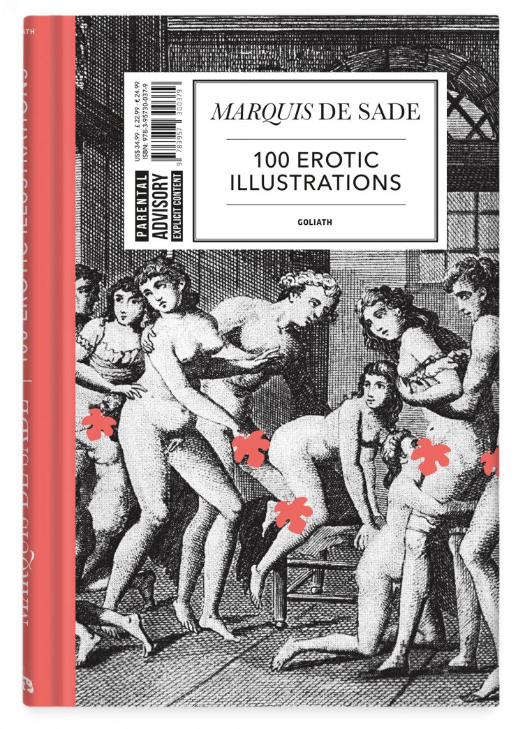 Marquis de Sade - 100 Erotic Illustrations Cover