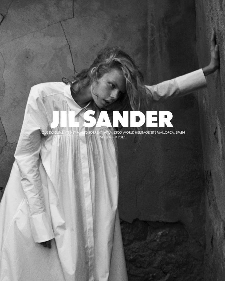 Jil Sander Spring 2018 Ad Campaign