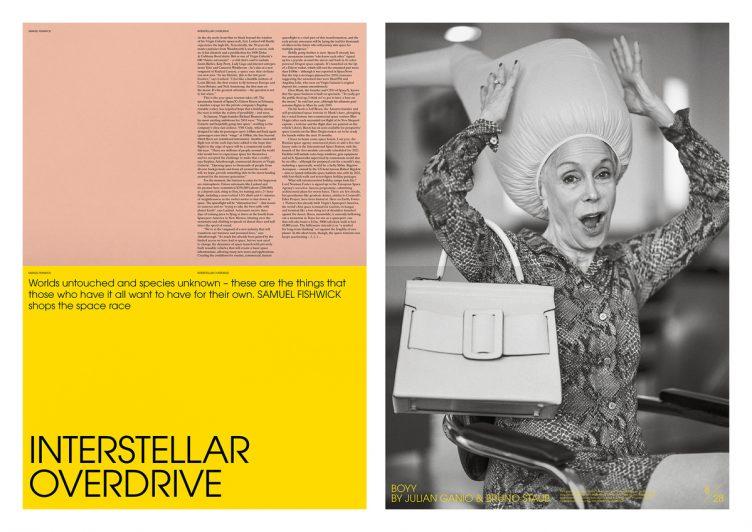 Lane & Associates - Selfridges Posterzine 010