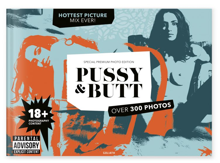 Pussy & Butt (with Dots) - Goliath Books 001