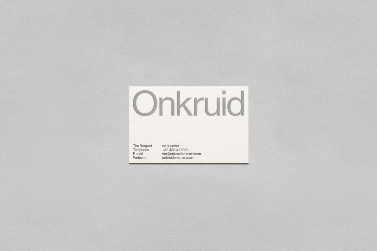 Onkruid Visual Identity 006